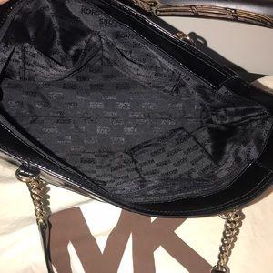 Michael Kors Bags - Black Patent Leather Michael Kors Purse